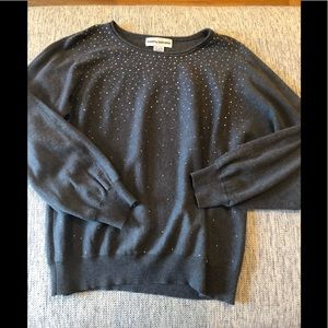 Cathy Daniels cotton sweater in size large EUC!